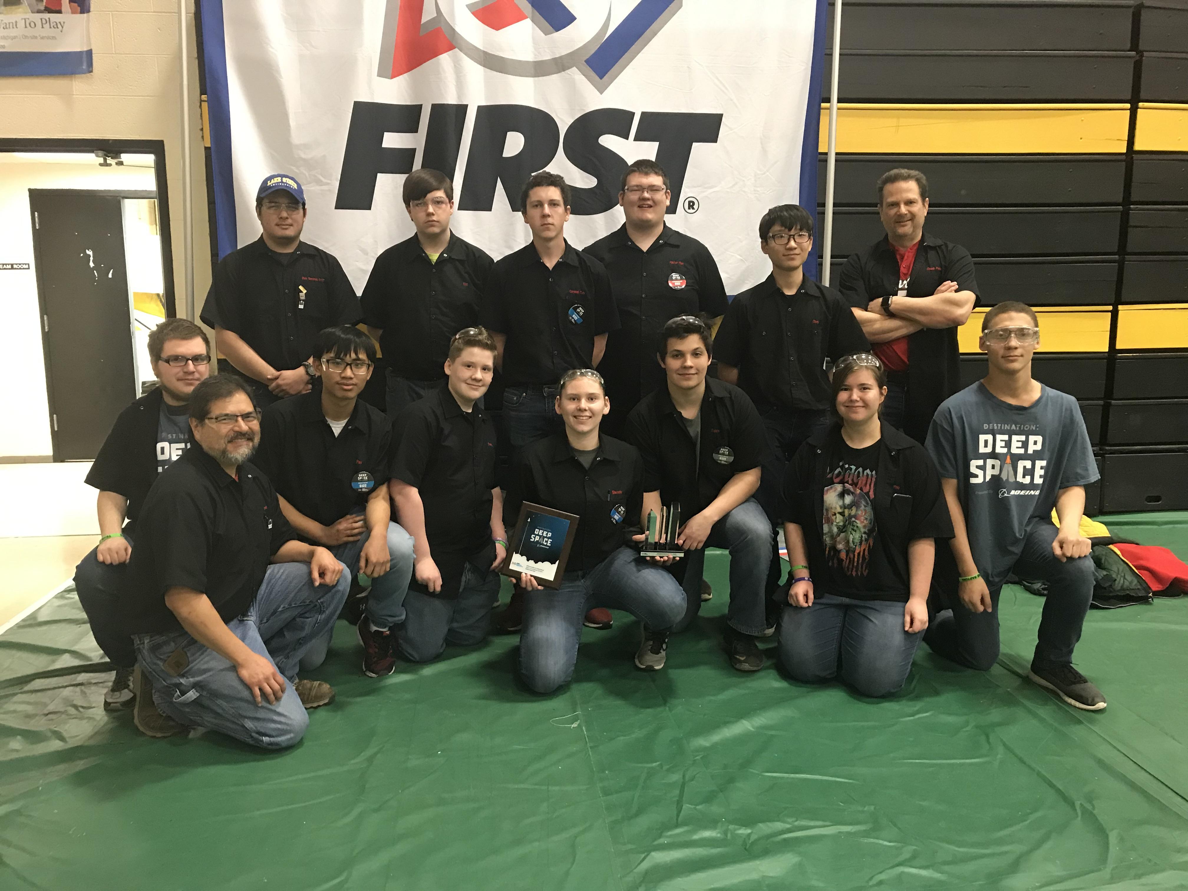 Bear Lakes Robotics Team @ TC District Tournament